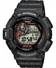 Casio G-9300-1ER Mens g-shock tvilling sensor solcelledrevet klokke