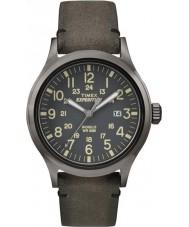 Timex TW4B01700 Mens ekspedisjon analog forhøyet brun klokke