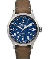 Timex TW4B01800 Mens ekspedisjon analog forhøyet tan lærreim watch
