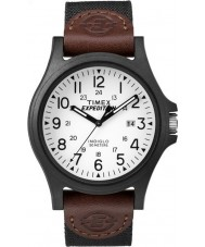 Timex TW4B08200 Mens ekspedisjon brunt stoff stropp watch