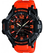 Casio GA-1000-4AER Mens g-shock tvilling sensor neon-illuminator watch