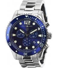 Elliot Brown 929-003-B01 Mens bloxworth sølv stål chronograph klokke