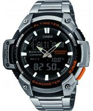 Casio SGW-450HD-1BER Mens kjernen sølv høydemåler og barometer combi watch