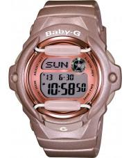 Casio BG-169G-4ER Ladies babyen-g Tele verdens tid rosa resin rem watch