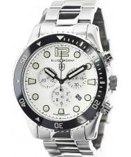 Elliot Brown 929-007-R01 Mens bloxworth sølv stål chronograph klokke