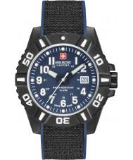 Swiss Military 6-4309-17-003 Herre svart karbon ur
