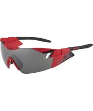 Bolle Sjette sans matt rød svart TNS pistol solbriller
