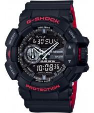 Casio GA-400HR-1AER Mens g-shock verdens tid svart combi watch