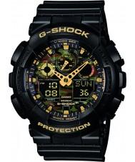 Casio GA-100CF-1A9ER Mens g-shock svart chronograph klokke