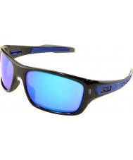 Oakley Oo9263-05 turbin svart blekk - safir iridium solbriller