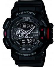 Casio GA-400-1BER Mens g-shock svart chronograph klokke