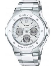 Casio MSG-300C-7B3ER Ladies babyen-g verdens tid to tone combi watch
