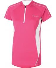 Dare2b Damer oppheve elektrisk rosa t-skjorte
