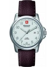 Swiss Military 6-4231-04-001 Mens swiss soldat prime brunt skinn stropp watch