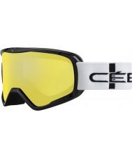 Cebe CBG50 Striker l orange rutete - oransje flash speil skibriller
