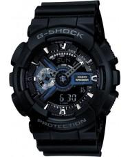 Casio GA-110-1BER Mens g-shock svart kombi verdens tid klokke