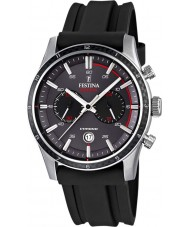 Festina F16874-H Mens Tour of Britain 2015 grå svart chronograph klokke