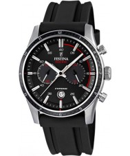 Festina F16874-I Mens Tour of Britain 2015 alt svart chronograph klokke