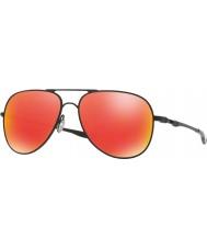 Oakley Oo4119-04 elmont m og l satin svart - ruby iridium solbriller
