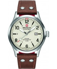 Swiss Military 6-4280-04-002-05 Mens undercover brunt skinn stropp watch