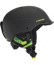Cebe CBH99 Contest visir matt svart og grønn skihjelm - 55-58cm