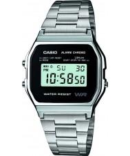 Casio A158WEA-1EF Mens samling watch