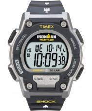 Timex T5K195 Mens grå ironman sjokk motstå 30 lap sport watch