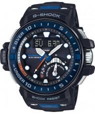 Casio GWN-Q1000-1AER Mens g-shock radiostyrte svart resin rem watch