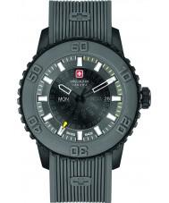 Swiss Military 6-4281-27-007-30 Mens skumringen grå silikon stropp watch