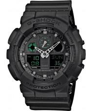Casio GA-100MB-1AER Mens g-shock matt svart resin rem watch