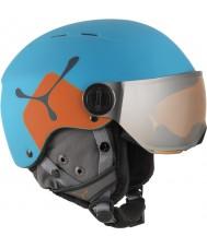 Cebe CBH209 Fireball jr blå oransje skihjelm - 49-54cm
