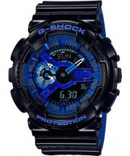 Casio GA-110LPA-1AER Mens g-shock verdens tid svart blå resin rem watch