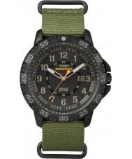 Timex TW4B03600 Mens ekspedisjon gallatin grønn nylon stropp watch