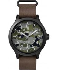 Timex TW4B06600 Mens speider brunt skinn stropp watch