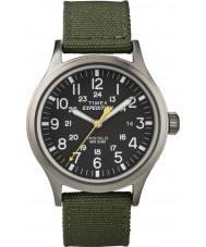 Timex T49961 Mens ekspedisjon speider grønn klokke