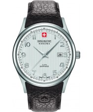 Swiss Military 6-4286-04-001 Mens navalus brunt skinn stropp watch