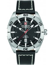 Swiss Military 6-4282-04-007 Mens champ svart skinn stropp watch