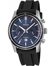 Festina F16874-G Mens Tour of Britain 2015 blå svart chronograph klokke