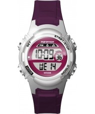 Timex TW5M11100 Ladies maraton lilla resin rem watch