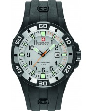 Swiss Military 6-4292-27-009-07 Mens bermuda svart silikon stropp watch