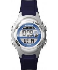 Timex TW5M11200 Ladies maraton blå resin rem watch