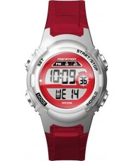 Timex TW5M11300 Ladies maraton rød resin rem watch