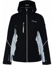 Dare2b DWP334-80010L Ladies etset linjer svart jakke - størrelse 10 (s)