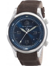 Elliot Brown 202-007-L07 Mens canford brunt skinn stropp watch
