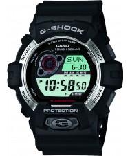 Casio GR-8900-1ER Mens g-shock soldrevne svart resin rem watch