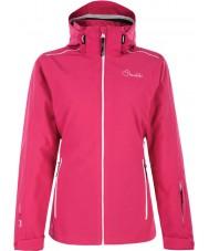 Dare2b DWP305-1Z006L Ladies jobbe opp elektrisk rosa ski jakke - størrelse uk 6 (XXS)