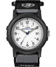 Timex T49713 Mens hvit svart camper ekspedisjonen watch