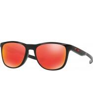 Oakley Oo9340-02 trillbe x polert svart - ruby iridium solbriller