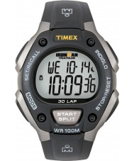 Timex T5E901 Svart ironman 30 lap full størrelse sport watch