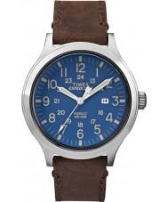 Timex TW4B06400 Mens ekspedisjon speider brunt skinn stropp watch